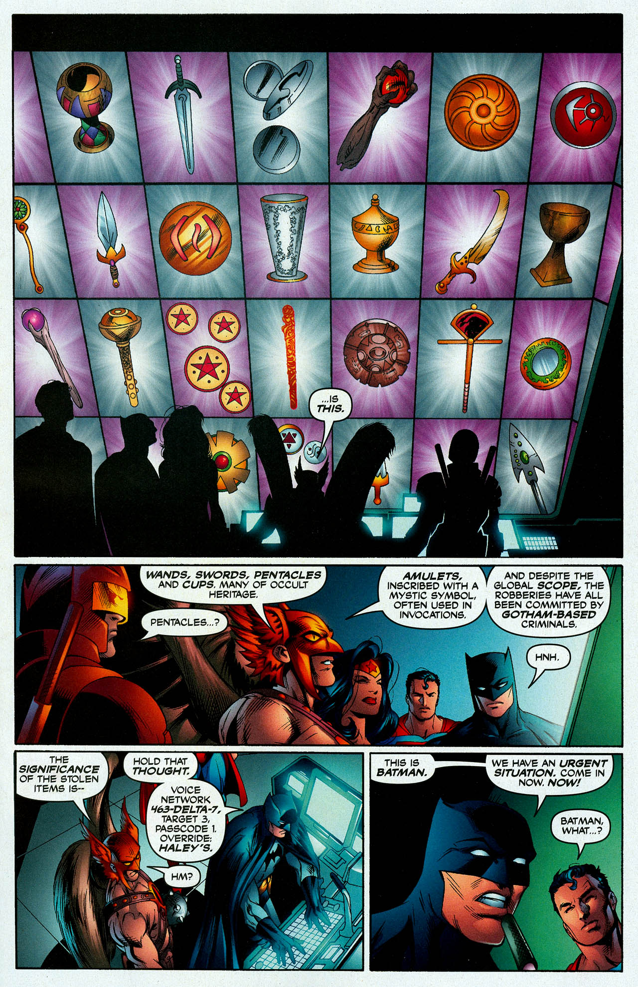 Read online Trinity (2008) comic -  Issue #7 - 10