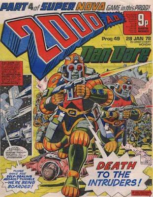 2000 AD #49, Dan Dare