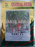benih cabe yosi, cabe yosi, cabe keriting yosi, cabe yosi harga murah, jual cabe yosi, global seed