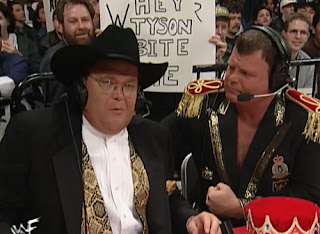 WWE / WWF Royal Rumble 1998 - Jim Ross & Jerry 'The King' Lawler announced the show
