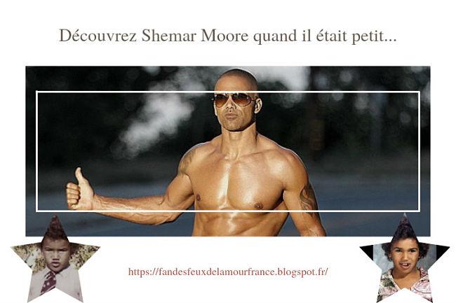 [Photos] | Shemar Moore beau goss depuis tout petit