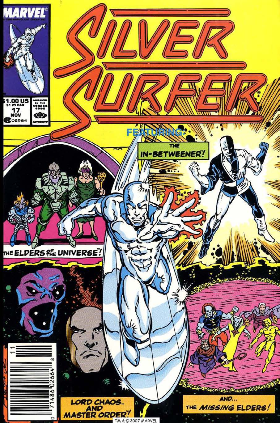 Read online Silver Surfer (1987) comic -  Issue #17 - 1