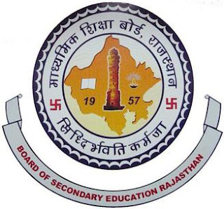 Rajathan Board Logo - Rajasthan 10th 12th Board Exam Time Table 2019