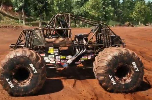 Monster Jam Training Truck