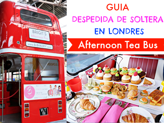 Afternoon Tea Bus - Guia Despedida Soltera en Londres