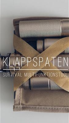 Gear of the Week #GOTW KW 52 | Klappspaten | Survival Multifunktionstool | Klappspaten mit Säge, Messer und Kompass