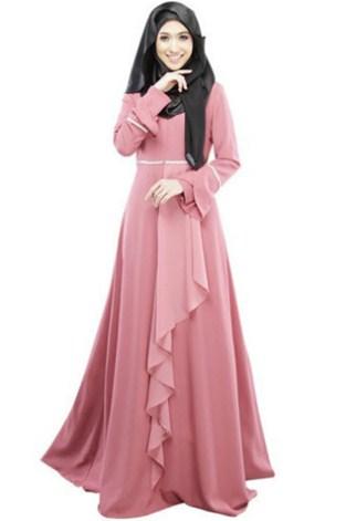 untuk perempuan muslimah semakin manis dan modis 34+ Contoh Model Dress Muslim Modern | Desain Cantik dan Modis