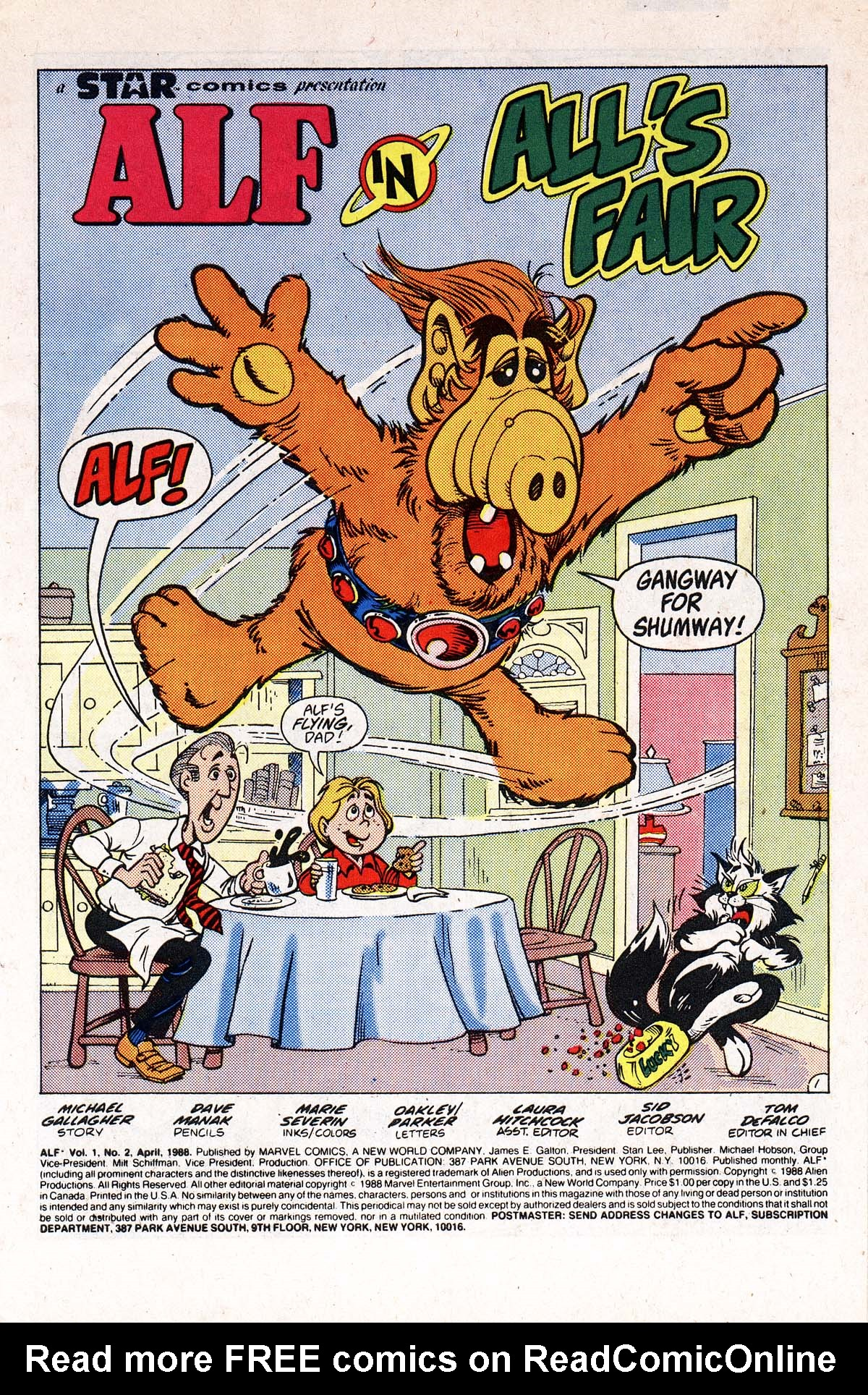 Read online ALF comic -  Issue #2 - 69