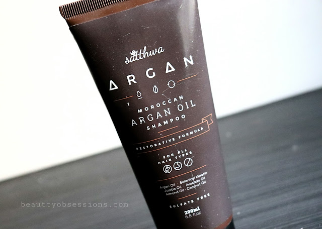 Satthwa Moroccan Argan Oil Shampoo Review