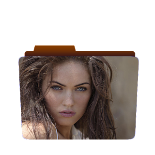 Preview of Megan Fox folder icon