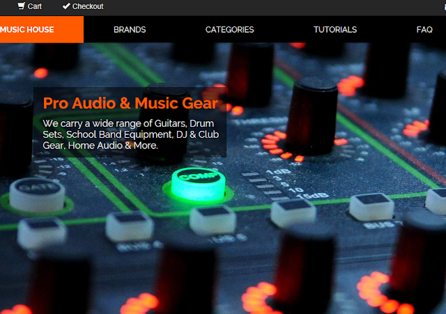 pro audio web sites