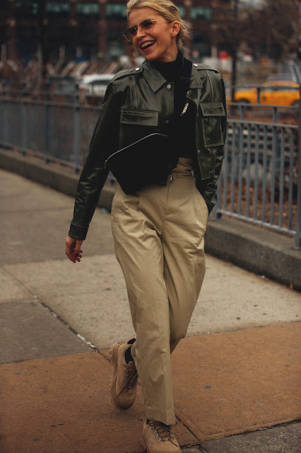 New York Fashion Week F/W 18-19 Street Style