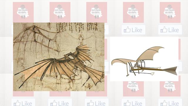 Ornitoptero de Da Vinci