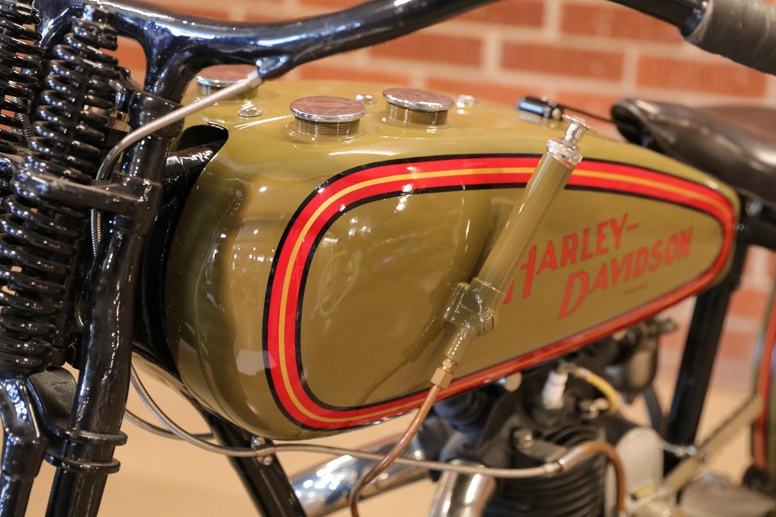 Harley Davidson: OldMotoDude: 1928 Harley-Davidson Peashooter Hill Climber