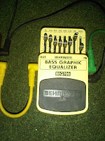 bass graphic equalizer, behringer