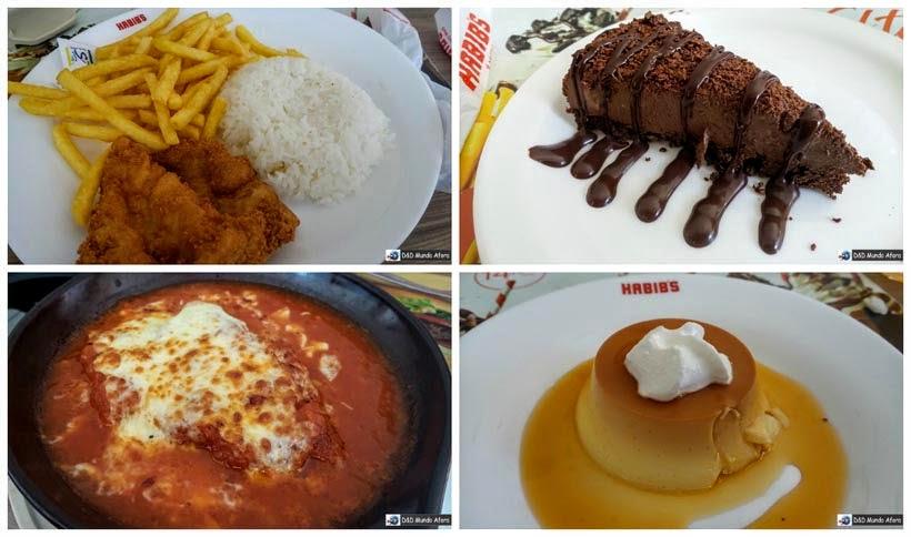 Diário de bordo - Onde comer em Fortaleza - Habib's