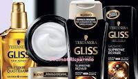 Logo Diventa tester Oil Elixir e Gliss Supreme Repair di Testanera