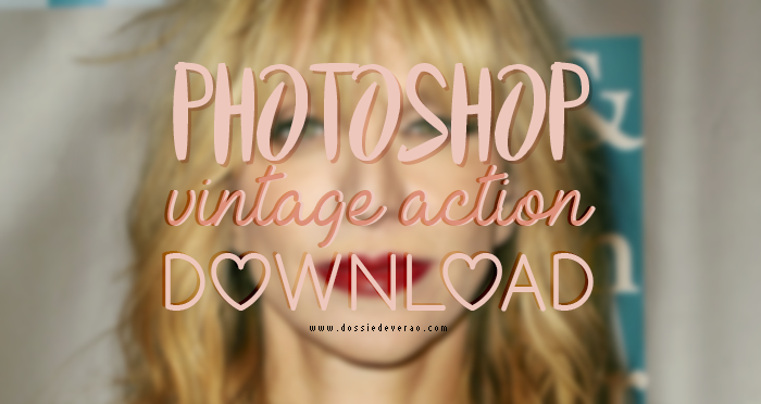 Vintage Action PSD Photoshop Free Download