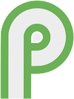 2000px Android P logo