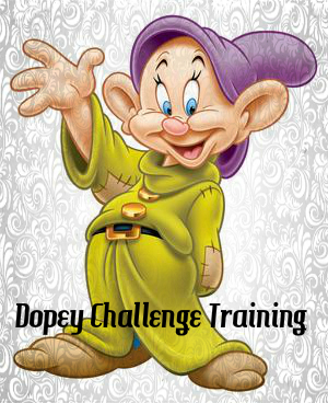 Dopey Challenge Training Week 8