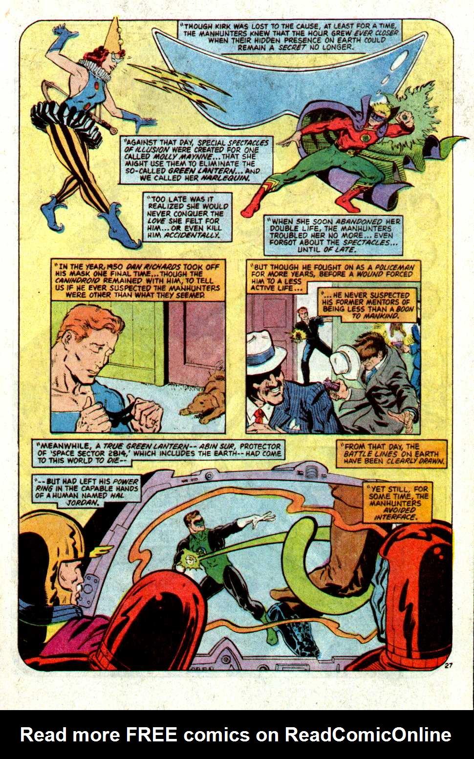 Read online Secret Origins (1986) comic -  Issue #22 - 28