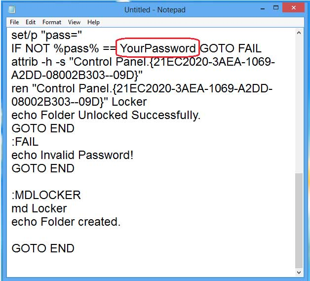 How to Lock a Folder with a password without using any Software tips in hindi