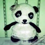 patron gratis oso panda  amigurumi | free pattern amigurumi panda bear