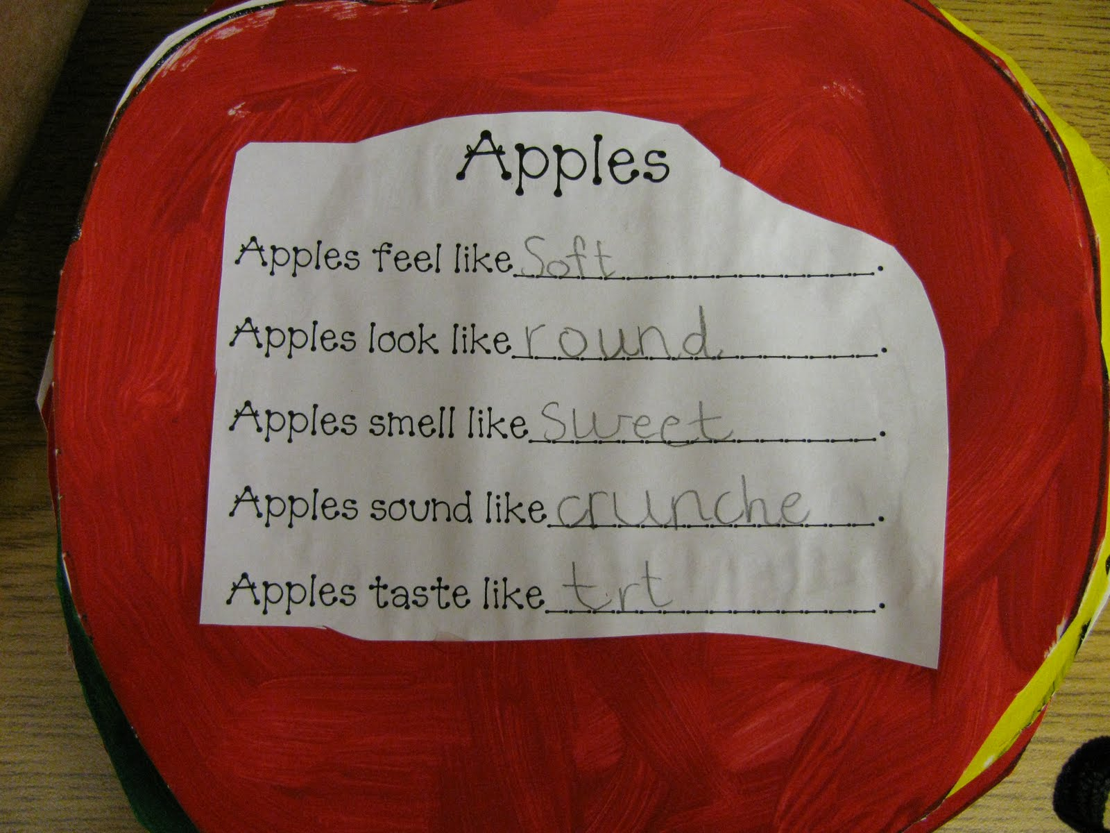 First Grade Gallery Lessons For Little Learners Apple
