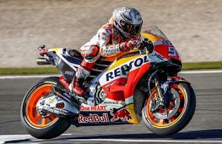 MotoGP Argentina 2018: Marquez Tercepat FP2, Rossi Ketujuh