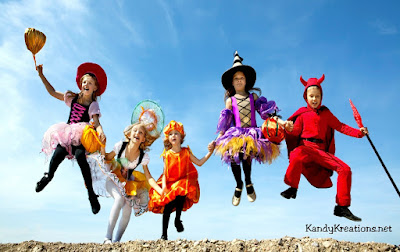 Make sure you dress in time to take Fun family pictures for Halloween Night