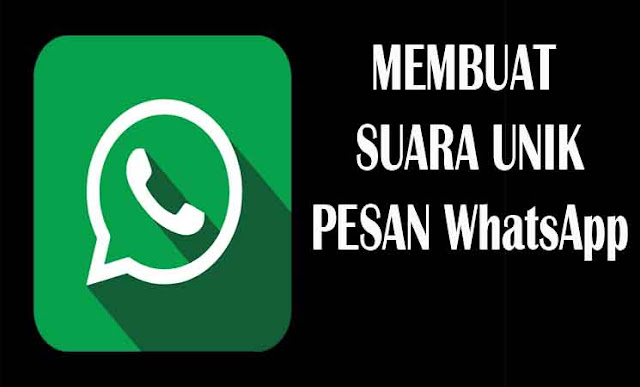 Cara membuat pesan suara unik di WhatsApp