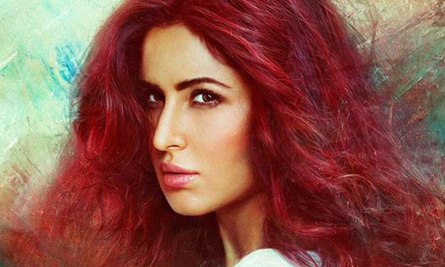 Katrina kaif's hair colour