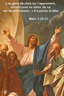 Méditations et homélies Marc-3-20-21aw