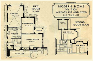 Sears Hillsboro floor plan 1935 catalog