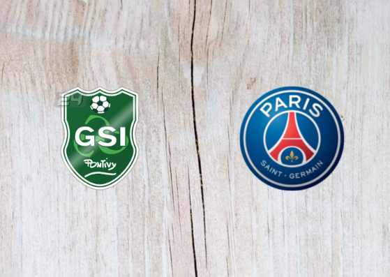 Pontivy GSI vs PSG Full Match & Highlights 6 January 2019