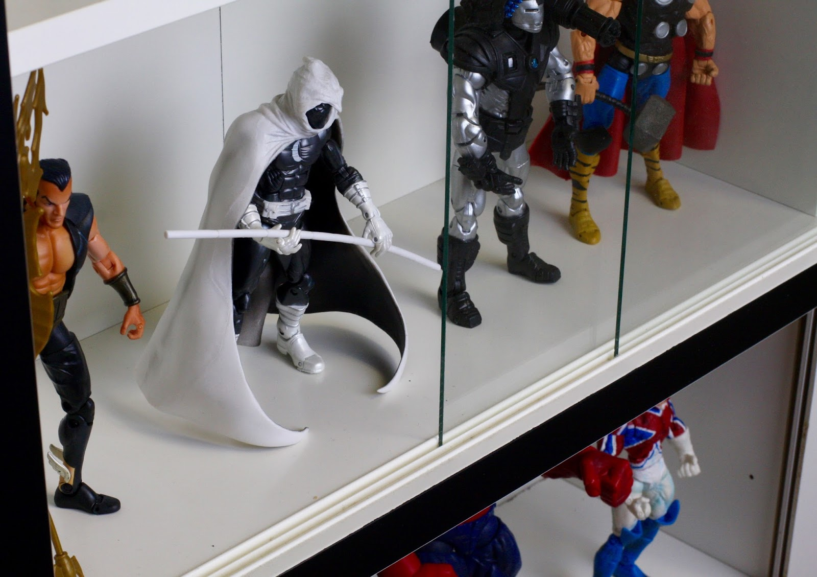 Geek Diy Bam Sliding Glass Door Action Figure Display