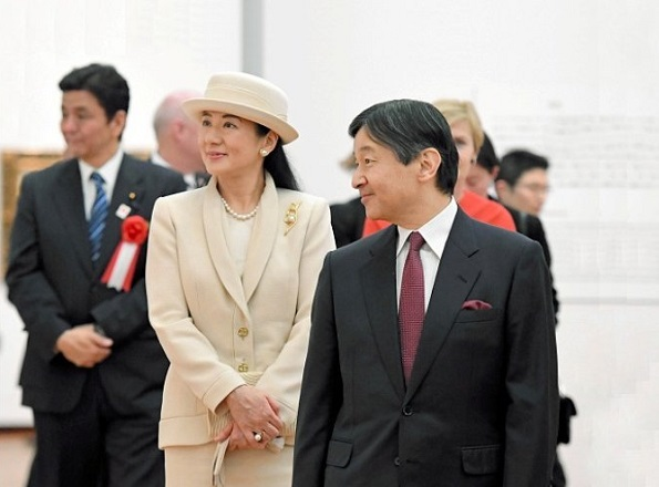 Crown Prince Naruhito and Crown Princess Masako visited Skagen: An Artists' Colony in Denmark exhibition in Tokyo