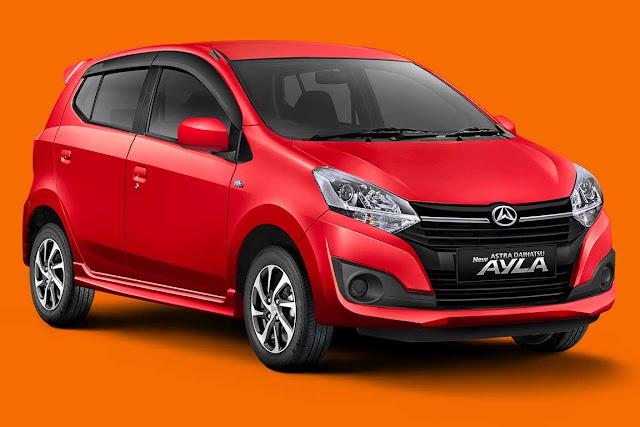 Spesifikasi dan Harga New Astra Daihatsu Ayla Type X 1.2