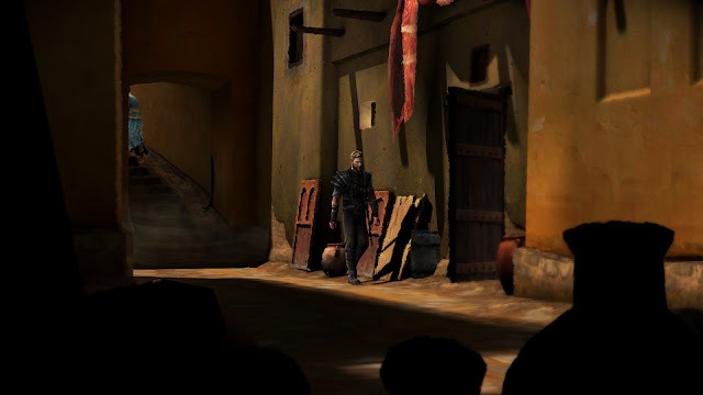 Screenshot from Games of Thrones - A Telltale Game Series