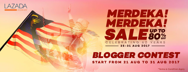 Merdeka! Merdeka! Lazada Blogger Contest, lazada, lazada malaysia, contest