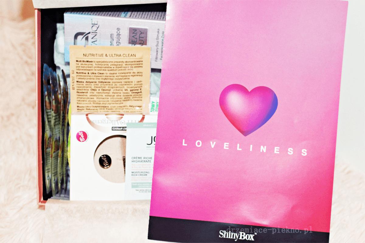 Shinybox Luty 2019 Loveliness - Zawartość