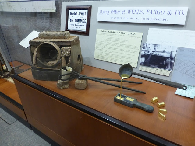 well's fargo furnace casting display