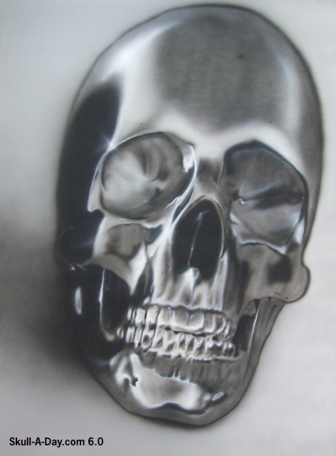 Airbrushed Skulls