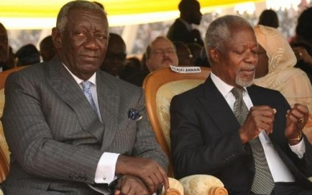 Sons of Annan, Kufuor used offshore accounts to hide wealth