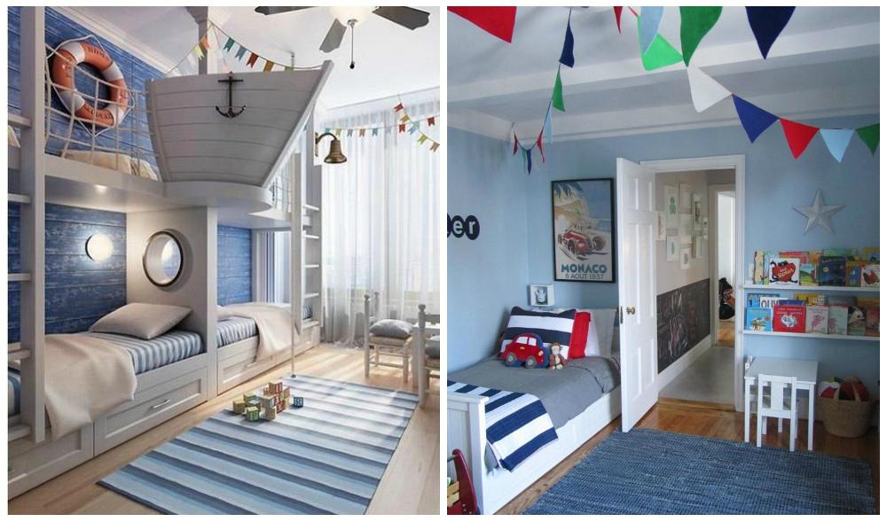 Blog o niemowlętach, rodzicielstwie oraz designie dla dzieci: Pokój dla niemowlaka w marynarskim ...