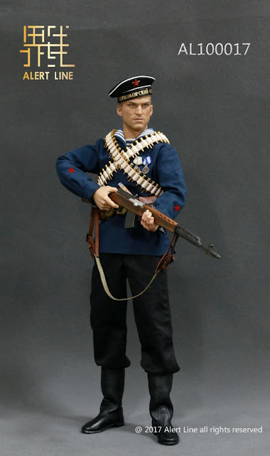 osw.zone Check out Alert Line 1 / 6. Scale WWII Soviet Red Navy Equipment Set for 12 inch figures