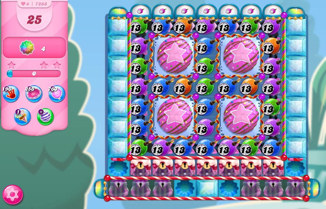 Candy Crush Saga level 7268