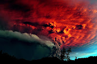 Puyehue Volcano Eruption