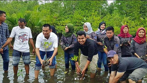 Ekowisata Mangrove Wanasari di Tuban Kuta Badung Bali