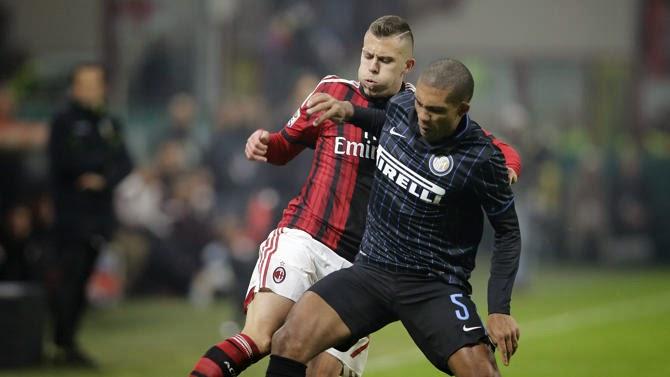 Milan Inter 1-1 risultato di Serie A